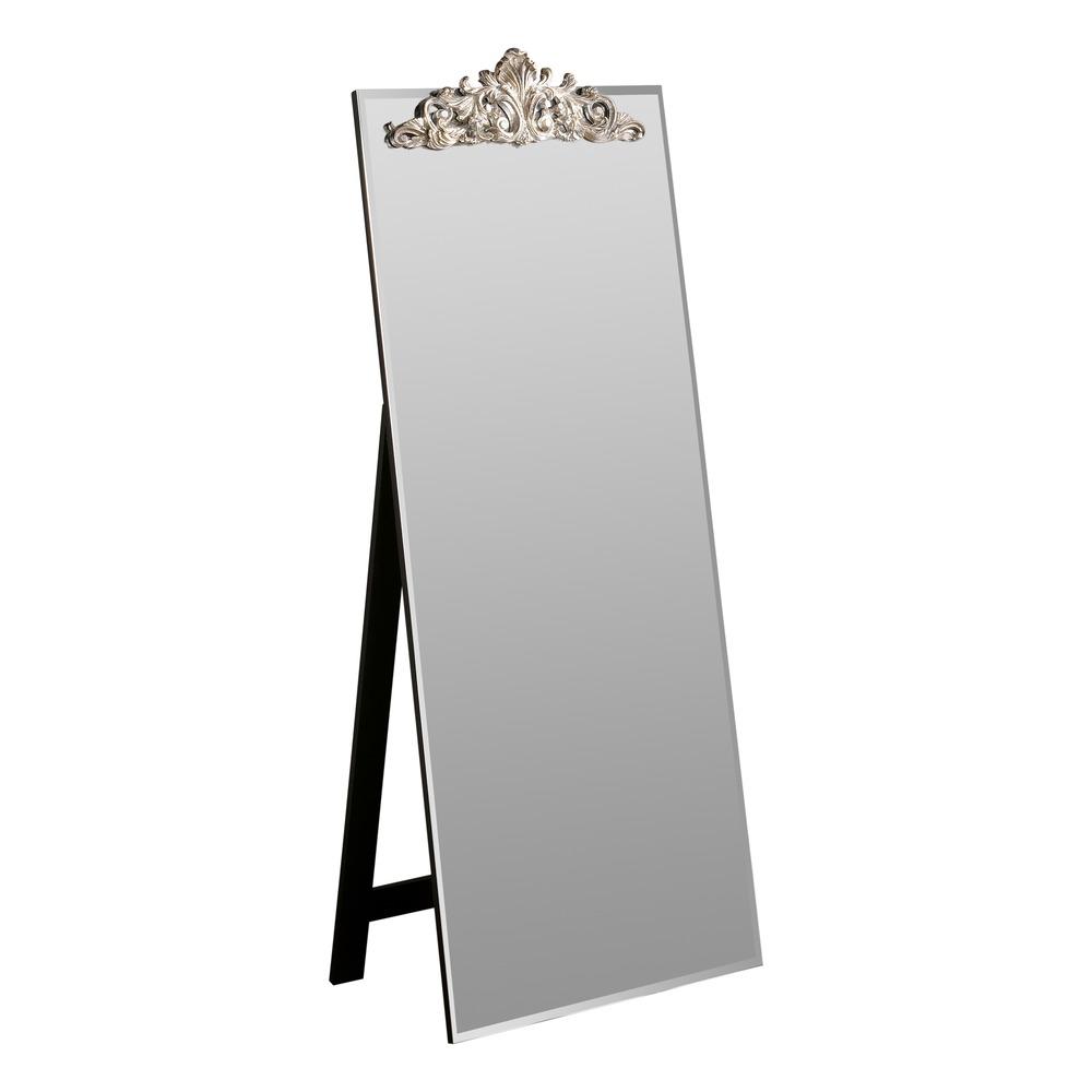 silver floor mirror. Lombardy Cheval Mirror Silver Floor M