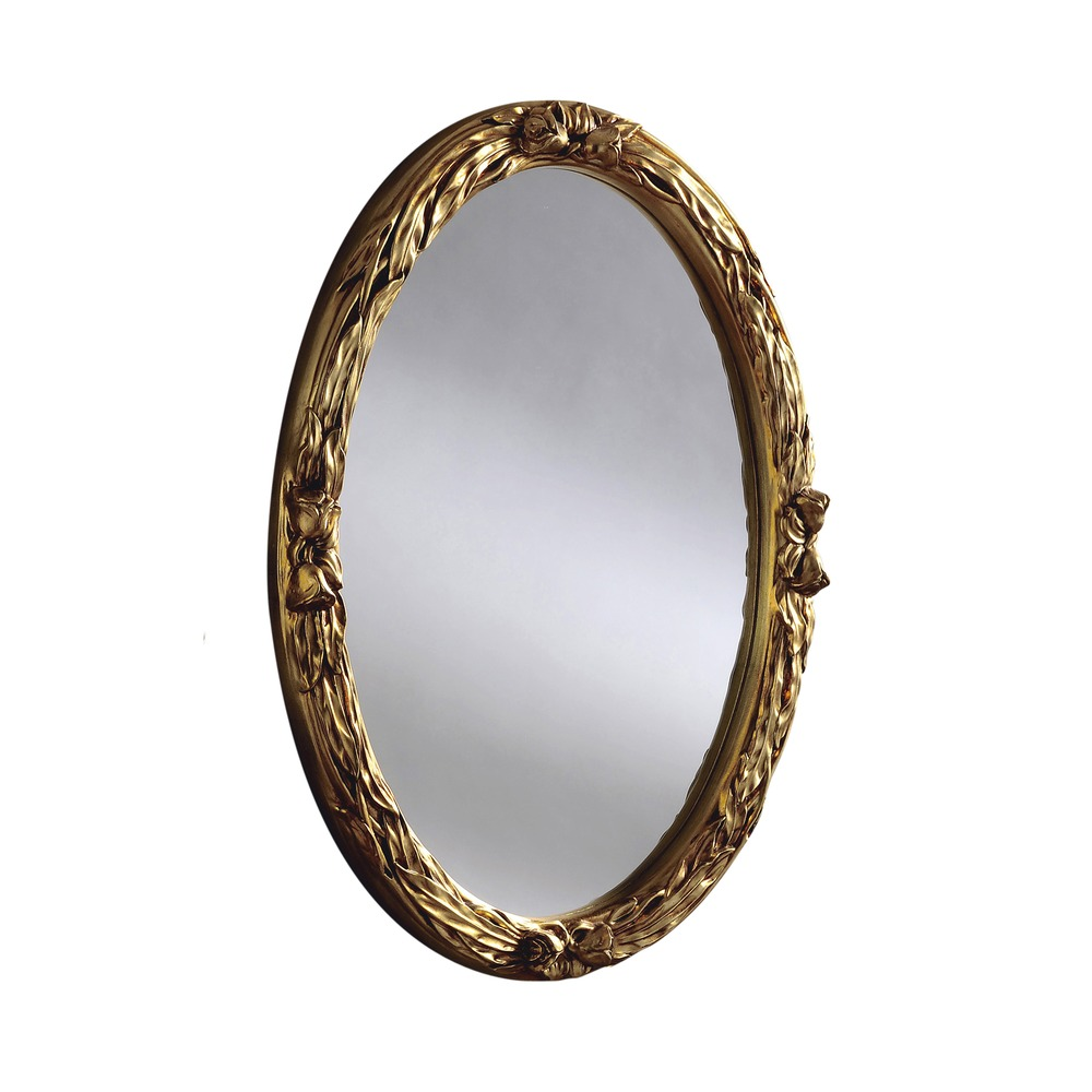 Round Gold Contemporary Wall Mirror | Mirrors | HomesDirect365
