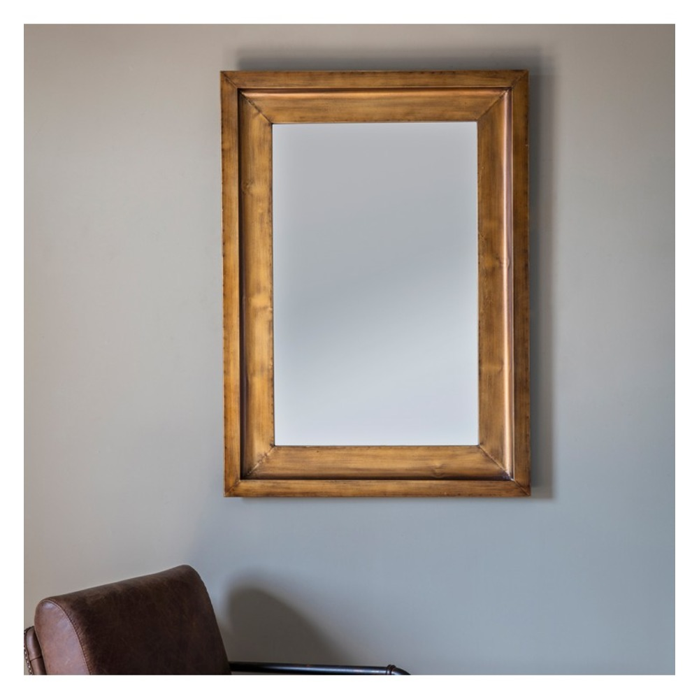 Wall mirror moorley rectangle mirror select mirrors for Rectangle mirror