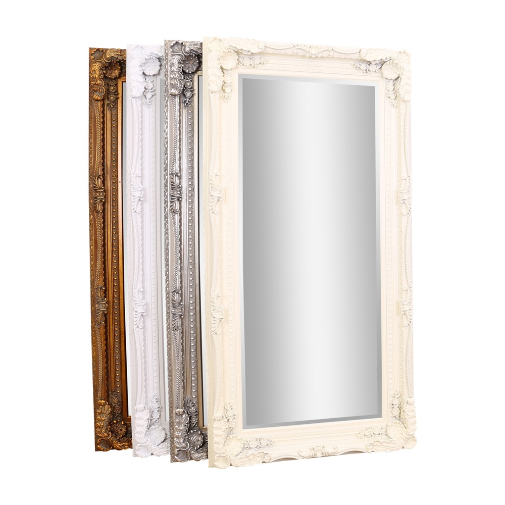 Gallery mirror carved louis leaner mirror select mirrors for Leaner mirror