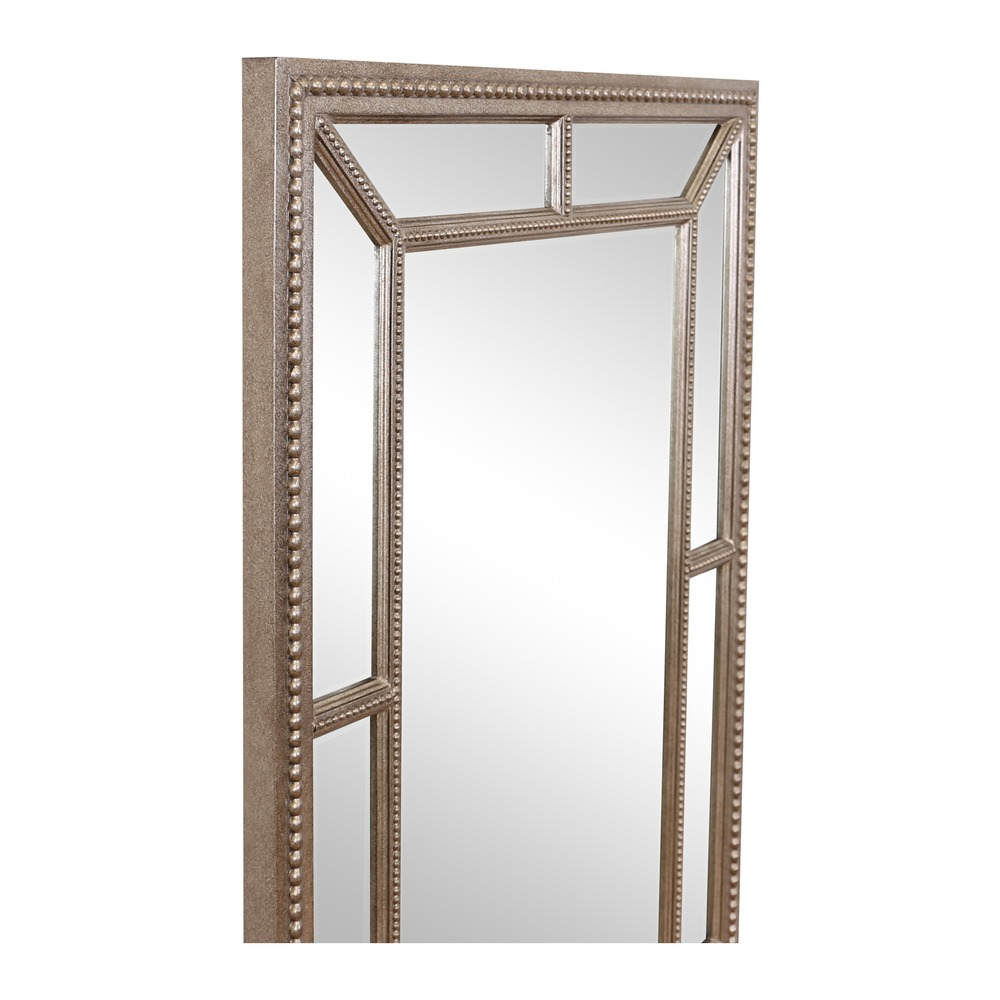 Buy lawson pewter finish large mirror select mirrors for Where to find mirrors