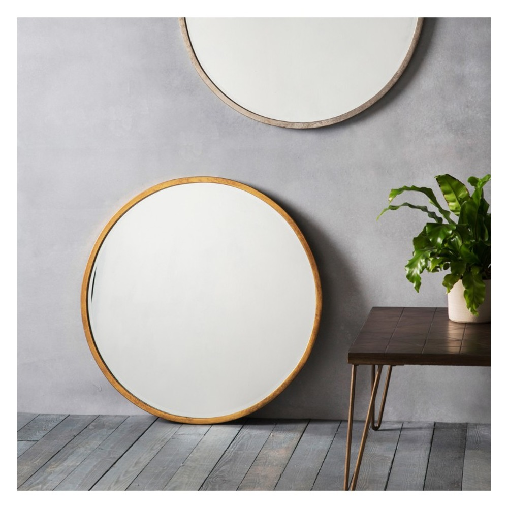 Buy higgins round mirror select mirrors for Circle mirror