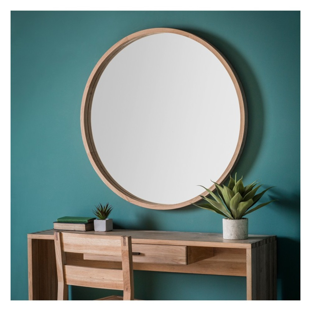 Buy bowman round mirror large select mirrors for Where to find mirrors