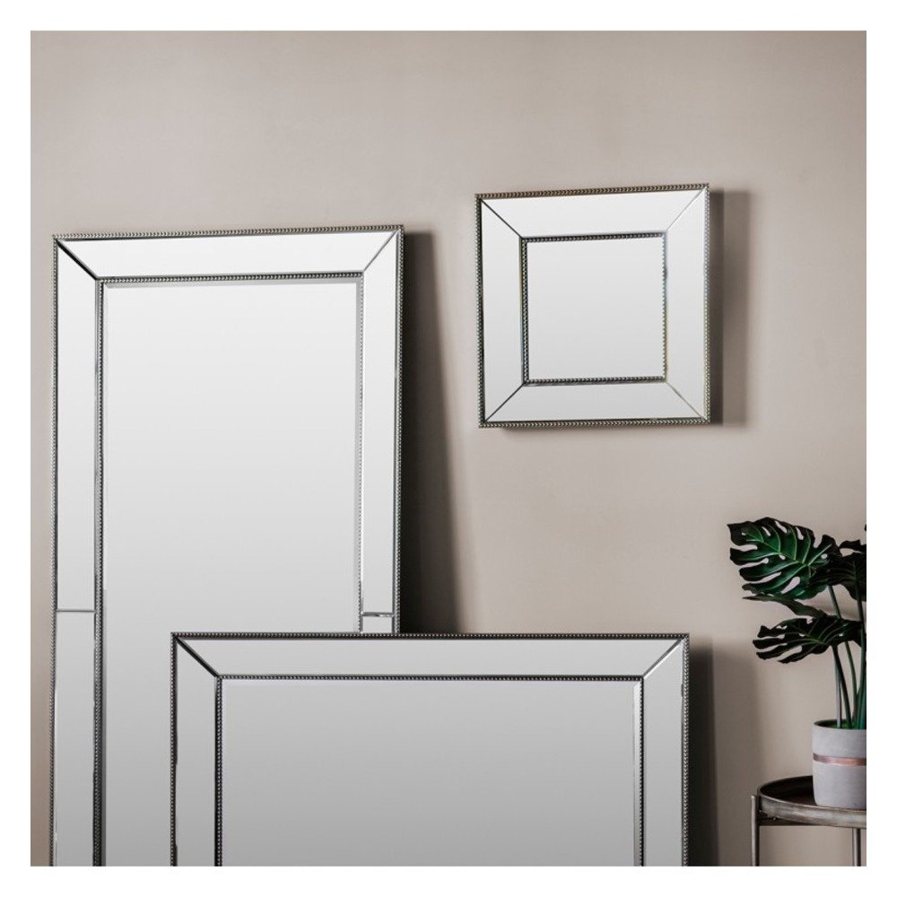 Buy radley square mirror select mirrors for Square mirror