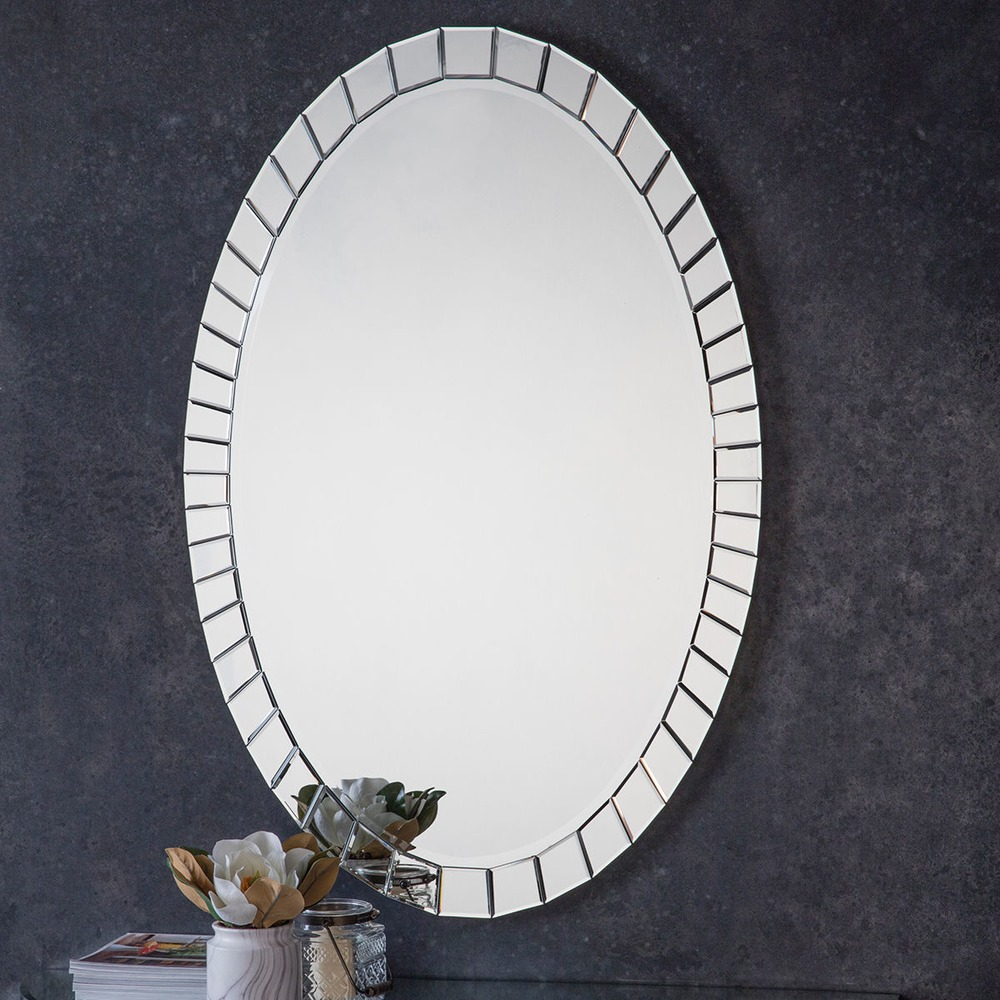 Buy Travis Oval Mirror Select Mirrors