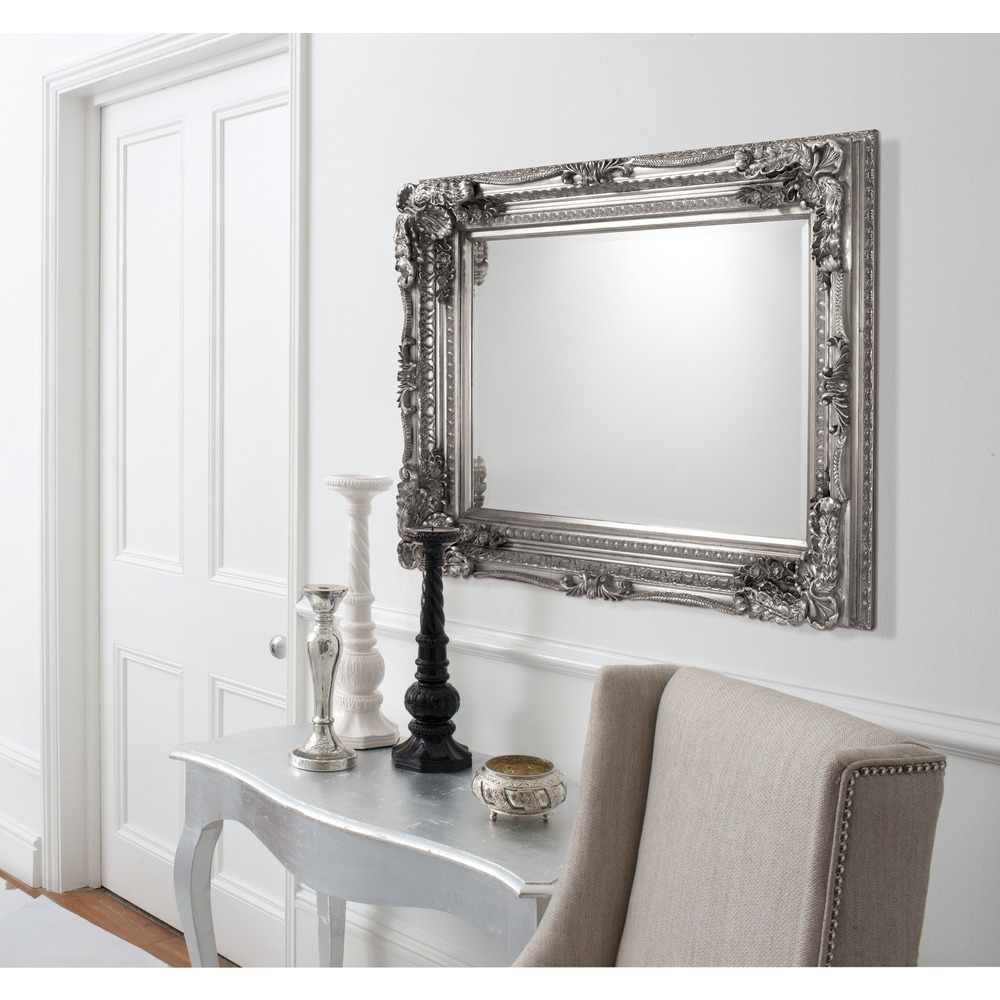 Large Wall Mirror Carved Louis Mirrorr Select Mirrors