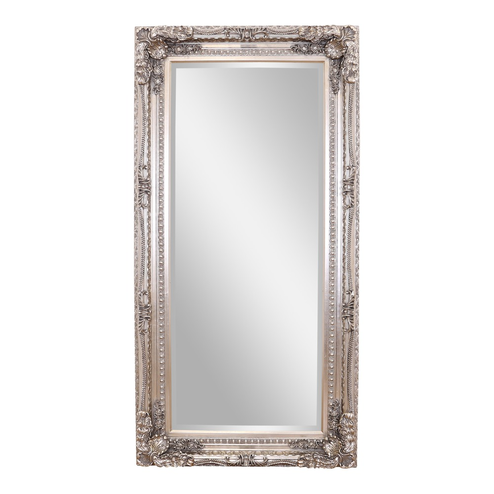 Gallery Mirror: Carved Louis Leaner Mirror