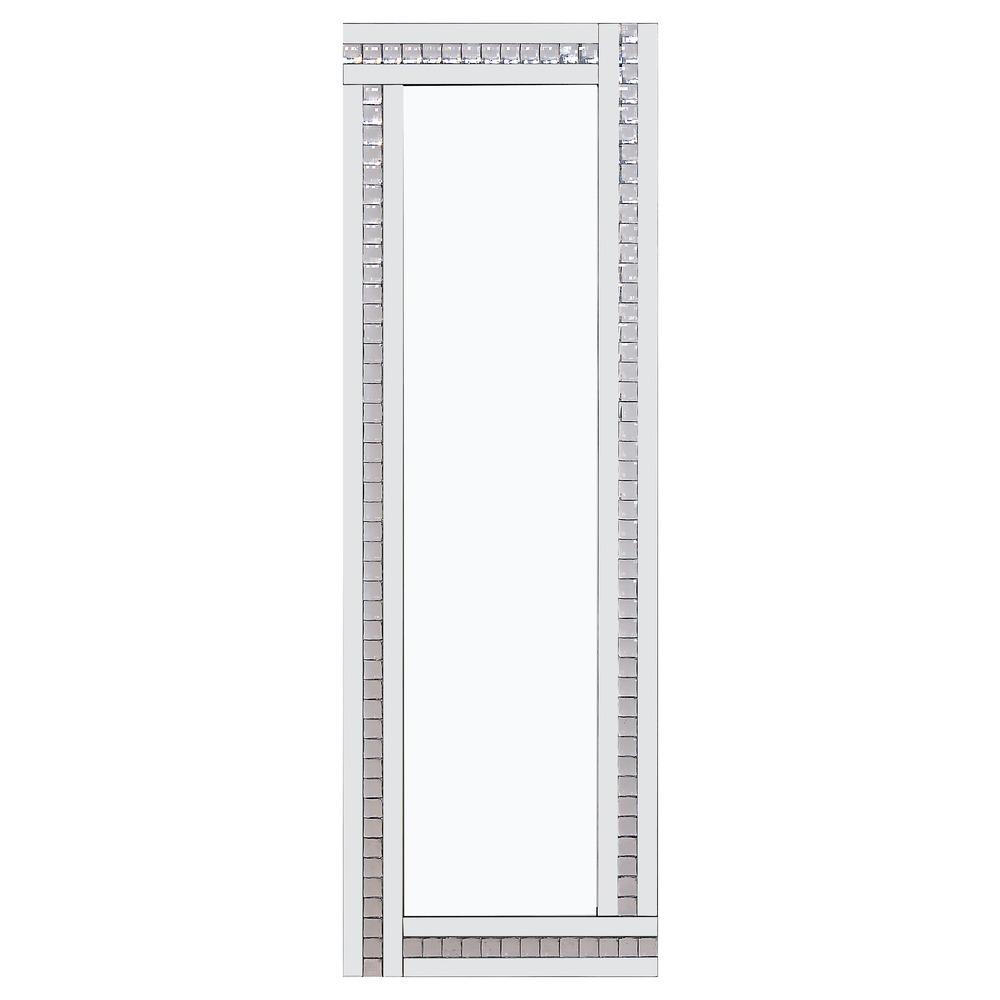 Buy alma white glass mirror select mirrors for Mirror 60cm x 80cm