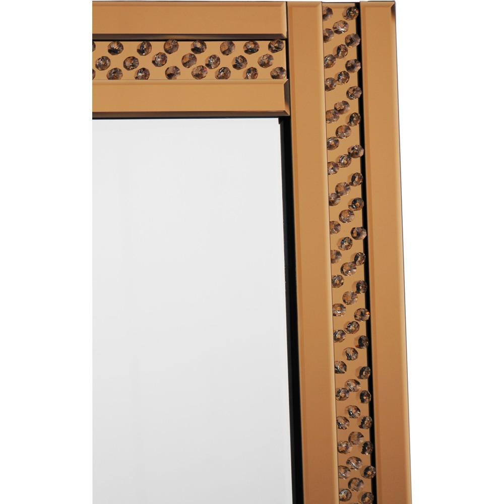 Buy glitz bronze mirror select mirrors for Mirror 60cm x 80cm