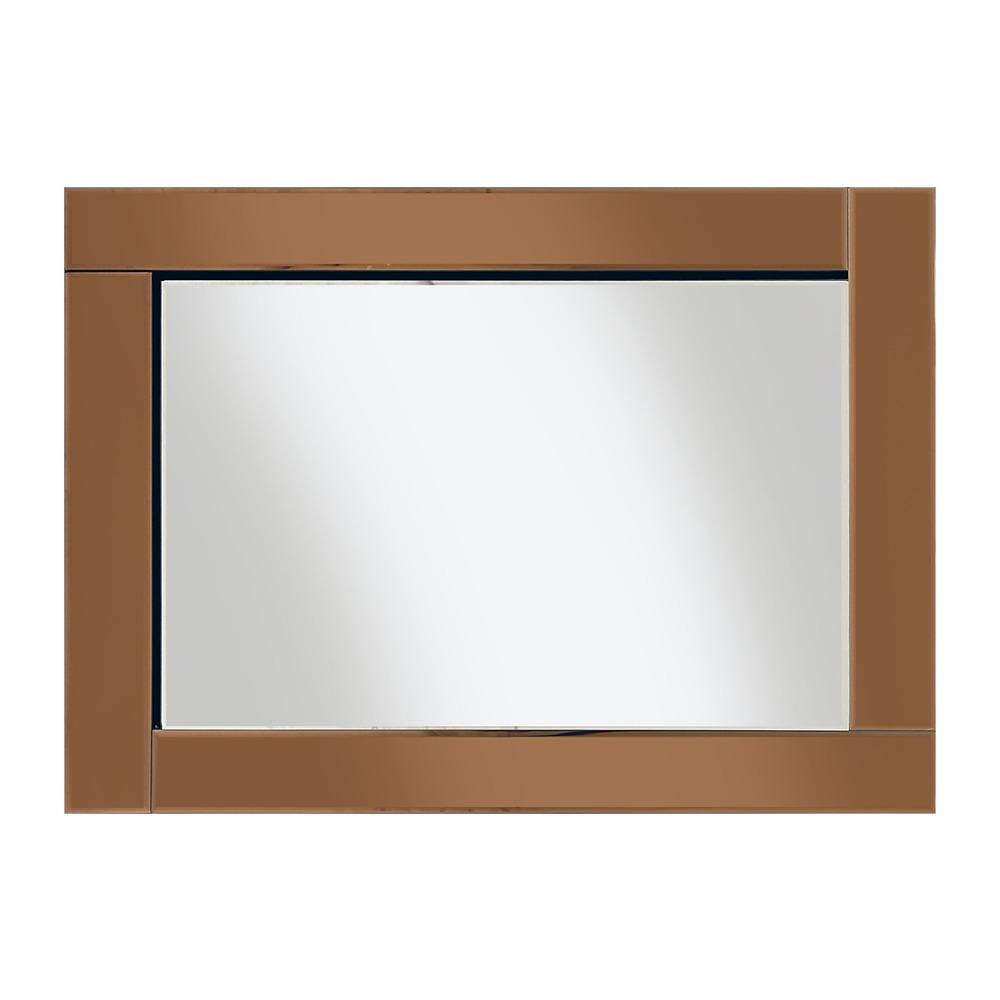 Buy chloe bronze mirror select mirrors for Mirror 60cm x 80cm