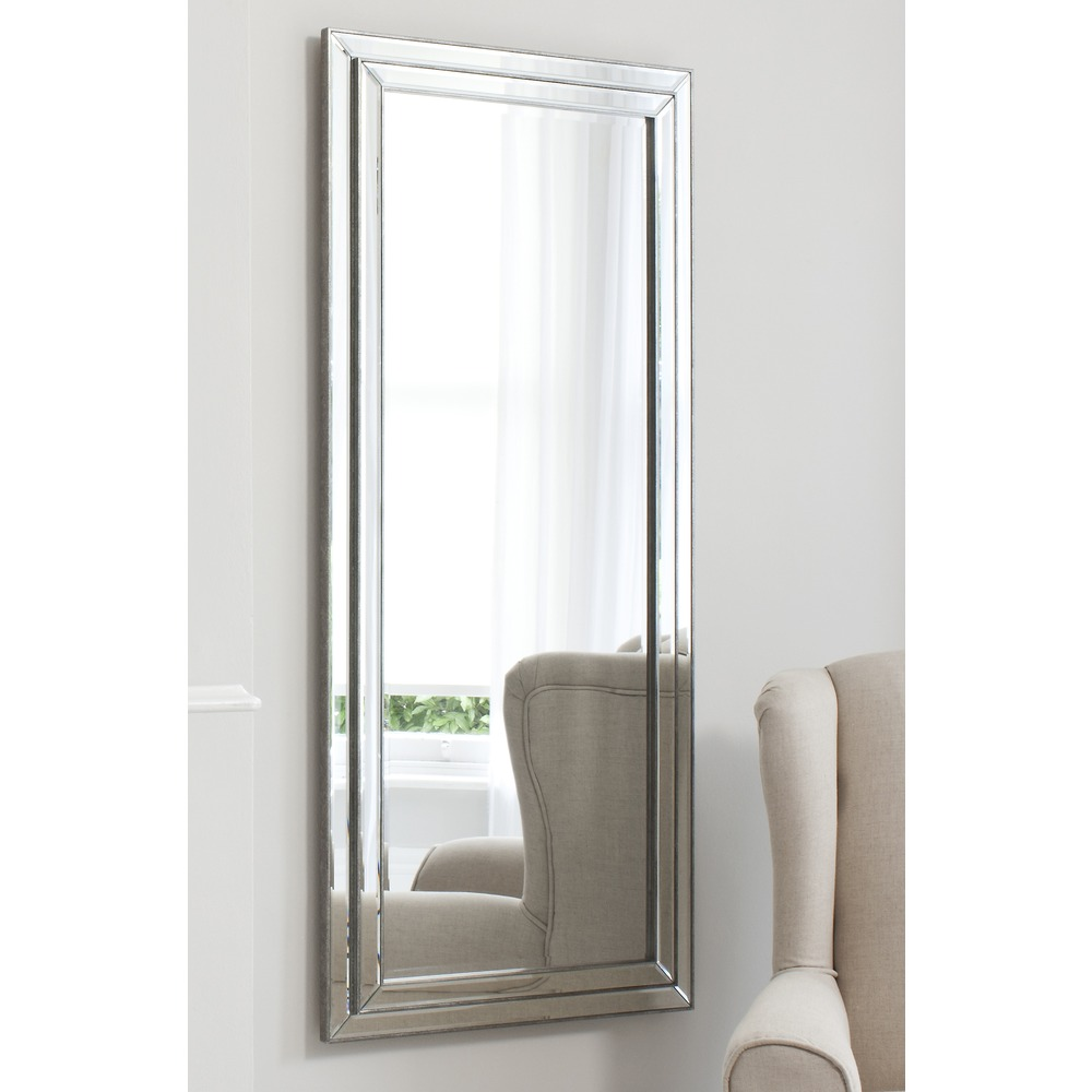 Leaner mirror chambery mirror pewter select mirrors for Leaner mirror