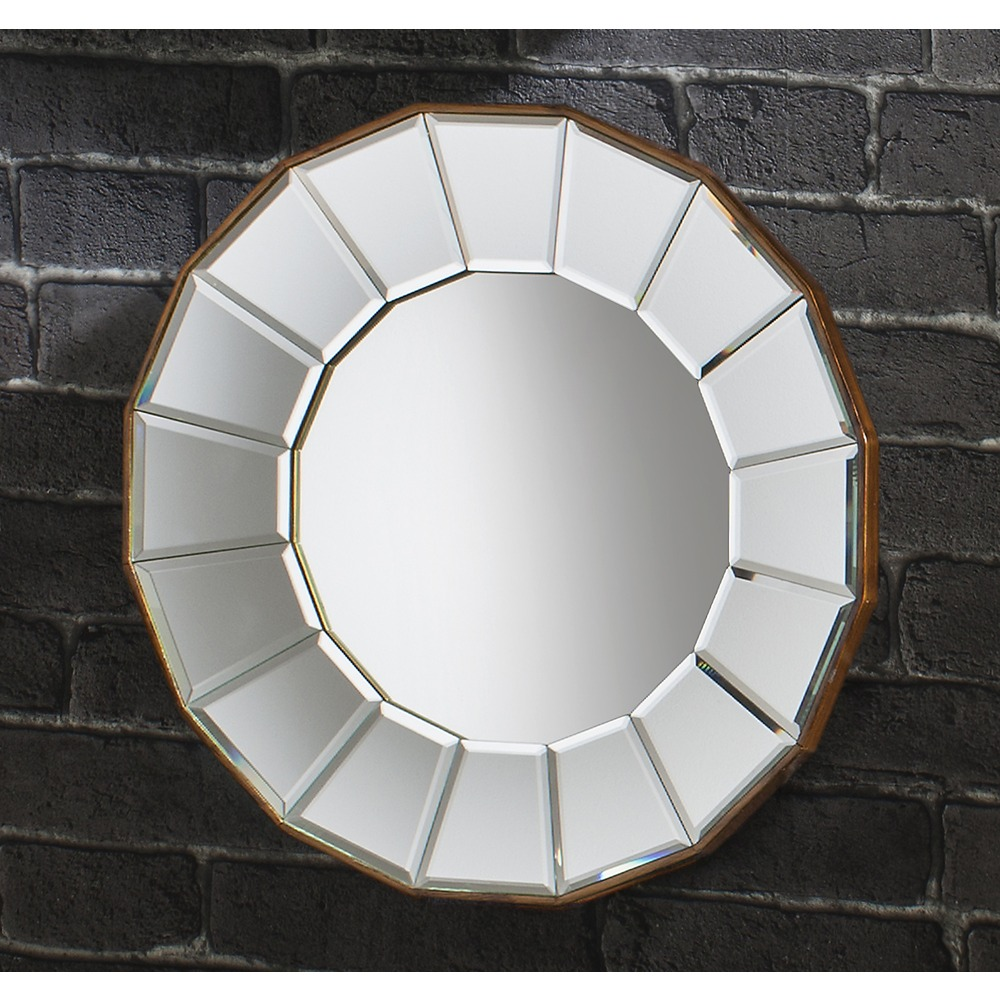 Gilded Round Wall Decor : Wall mirror round fancy decorative designs