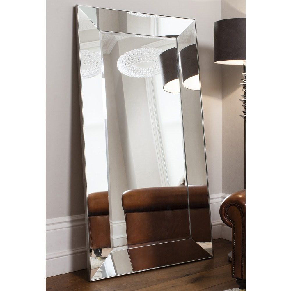 vasto leaner mirrored frame mirror - Mirrored Frame