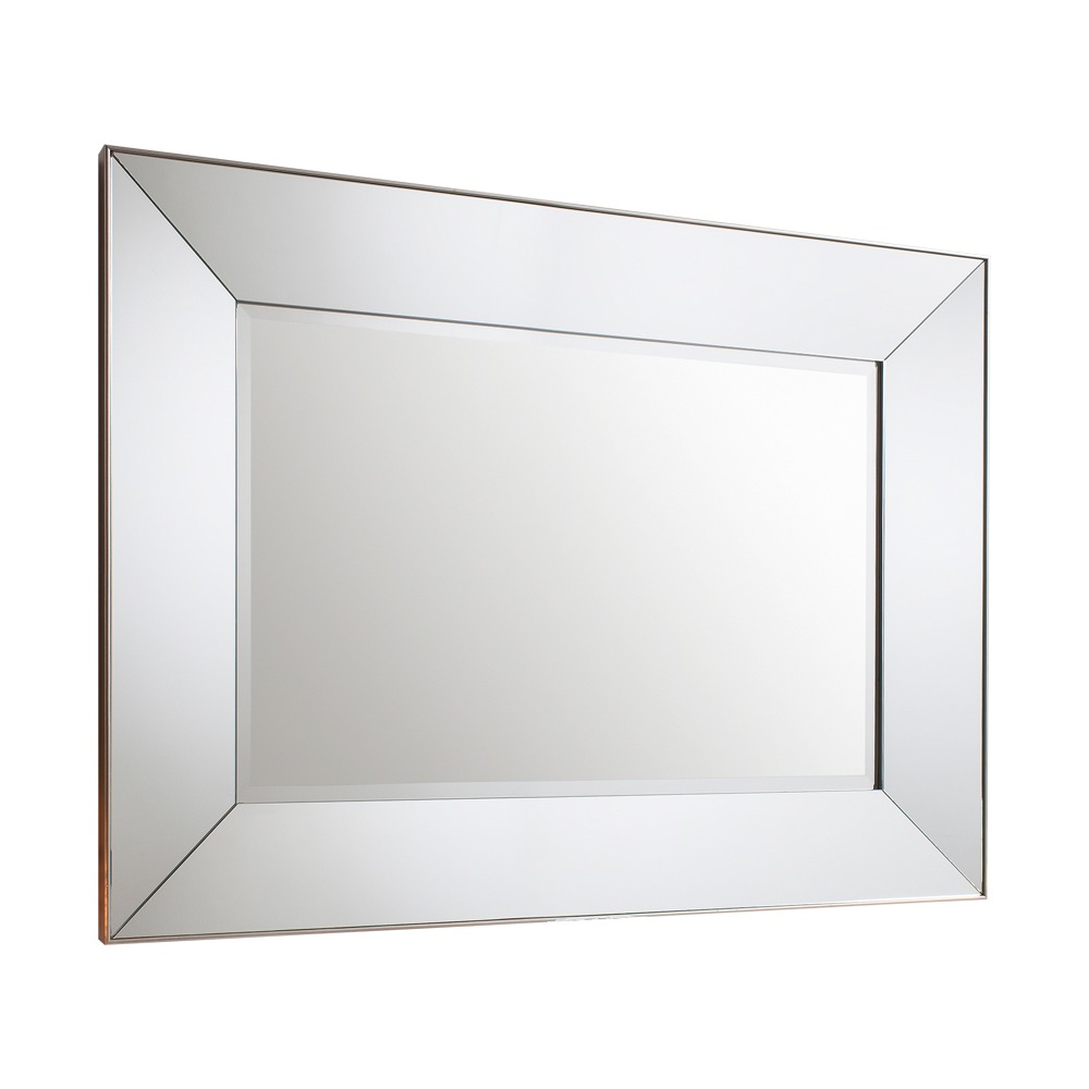 Wall Mirror: Vasto Rectangular Mirrored Mirror