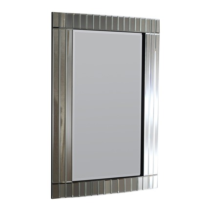 Crowne Silver Wall Mirror