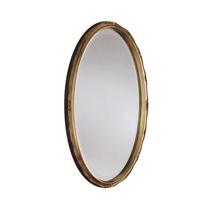 Rose Oval Wall Mirror