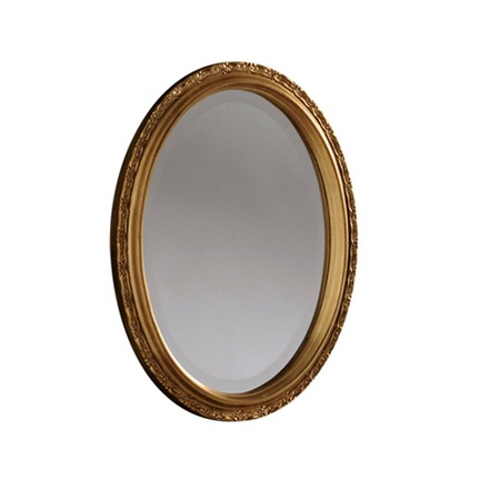 Henley Oval Bevelled Mirror