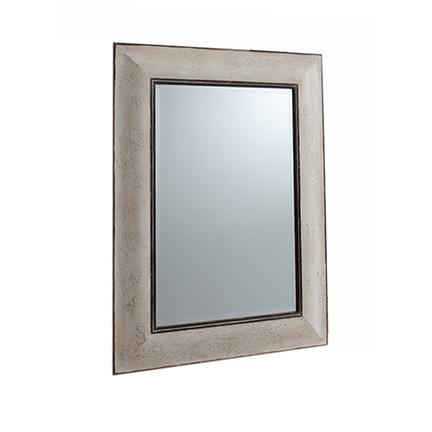 Ealham Vintage Cream Painted Wall Mirror