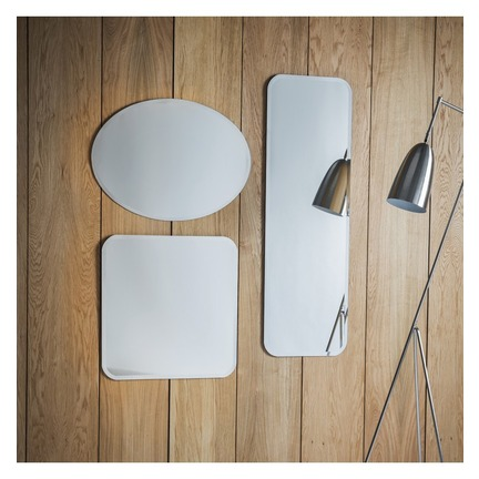 Miller Flat Mirrors Set of 2