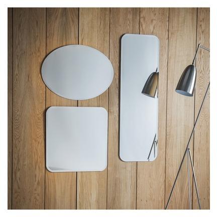 Miller Flat Mirrors Set of 2