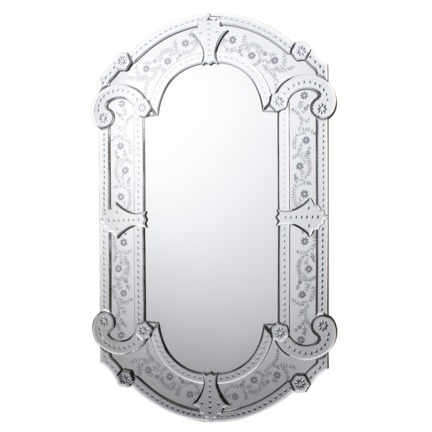 Amethyst Venetian Mirror