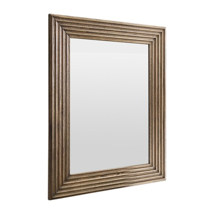 Wilbur Scalloped Weathered Mirror