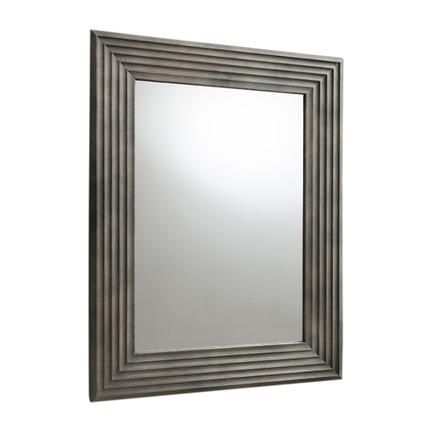 Wilbur Scalloped Rustic Mirror