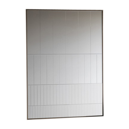 Strepen Groove Cut Mirror