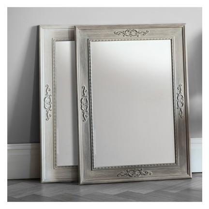 Ellesmere Rustic White Mirror