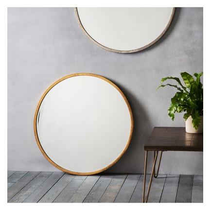 Higgins Round Mirror