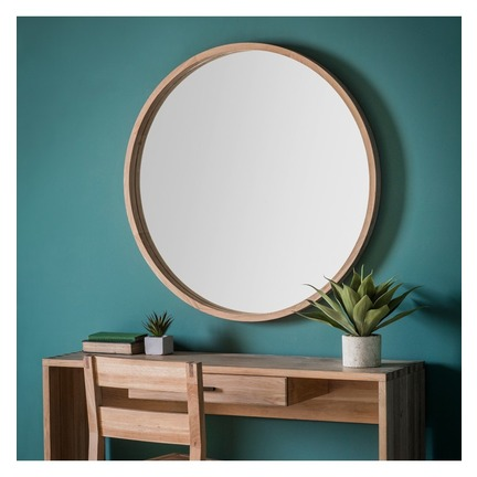 Bowman Round Mirror Large