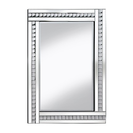 Alma Crystal Glass Mirror - 3 Sizes