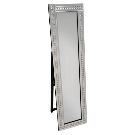 Alma Crystal Cheval Mirror