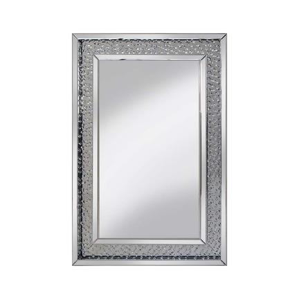 Rhombus Crystal Glass Mirror