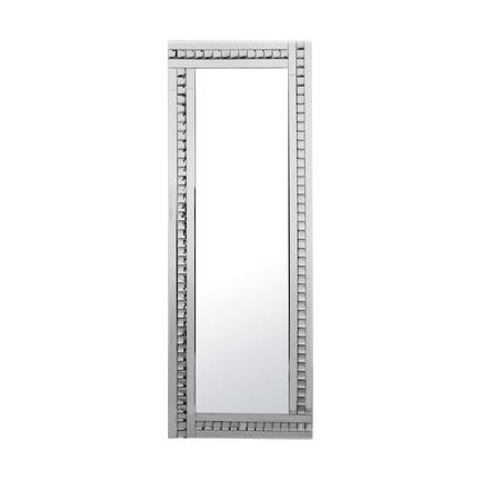 Alma Crystal Glass Leaner Mirror