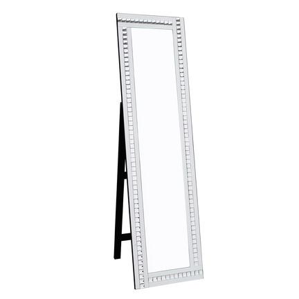 Alma White Cheval Mirror