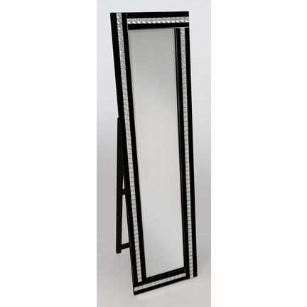 Alma Black Cheval Mirror