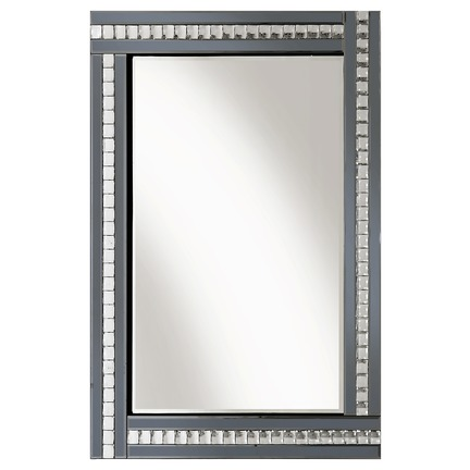 Alma Smoked Glass Mirror - 3 Sizes