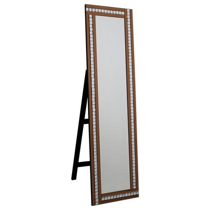 Alma Bronze Cheval Mirror