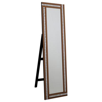 Alma Bronze Cheval Mirror