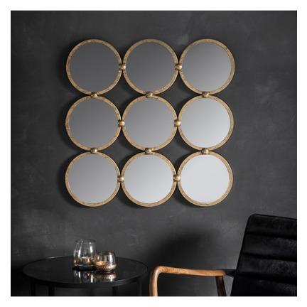 Bradbury Circle Mirror