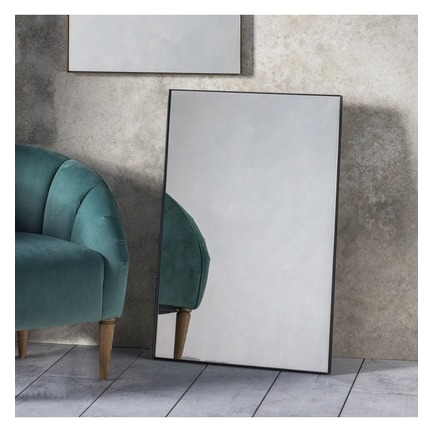 Hurston Rectangle Mirror - Black