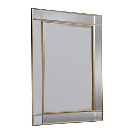 Baker Gold Wall Mirror