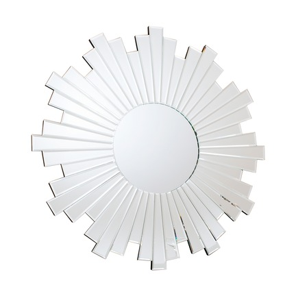 Zamora Starburst Mirror with Bevelled Mirror