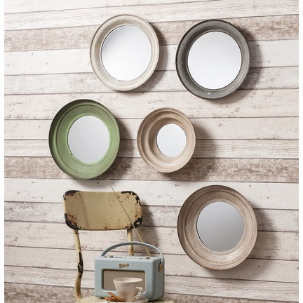 Crosby Metal Framed Mirrors Set of 5