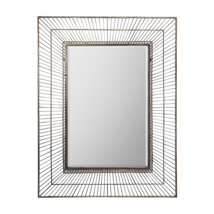 Olden Gold Metal Wall Mirror
