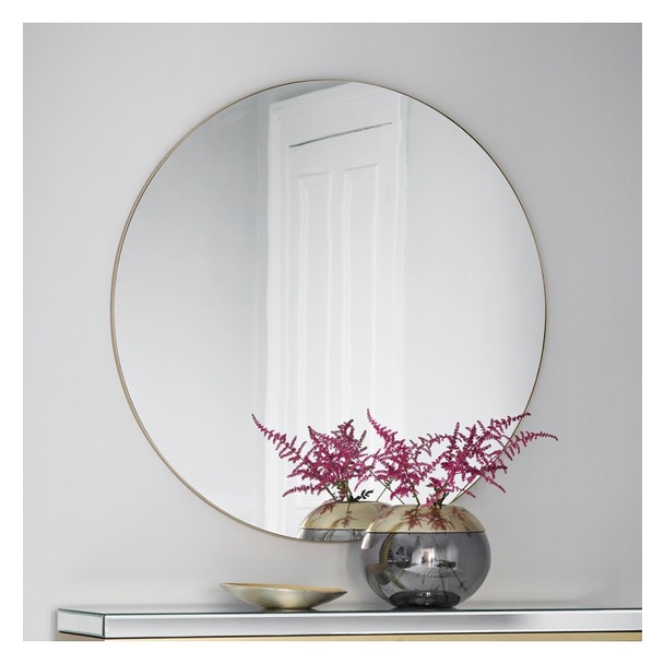 Buy Hayle Round Mirror Select Mirrors