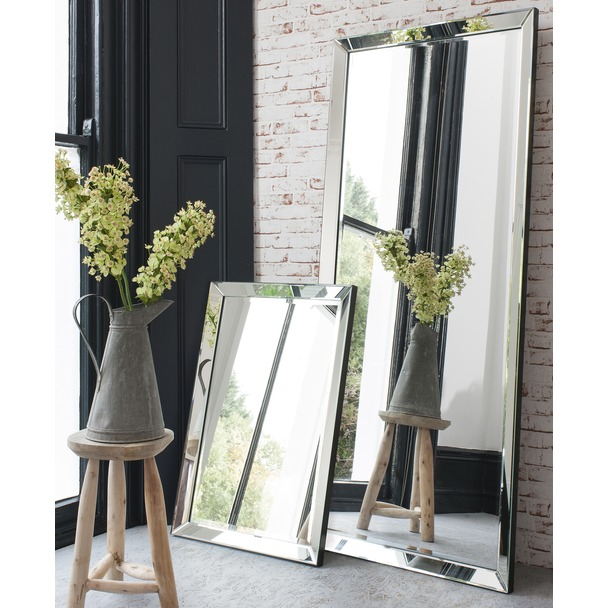Full Length Mirror Luna Leaner Rectangle Mirror Select